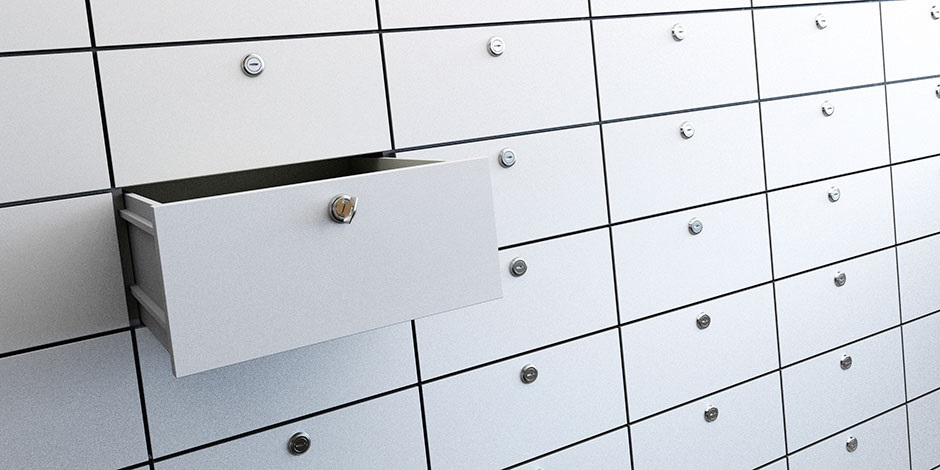 Is your safety deposit box off limits to everyone?