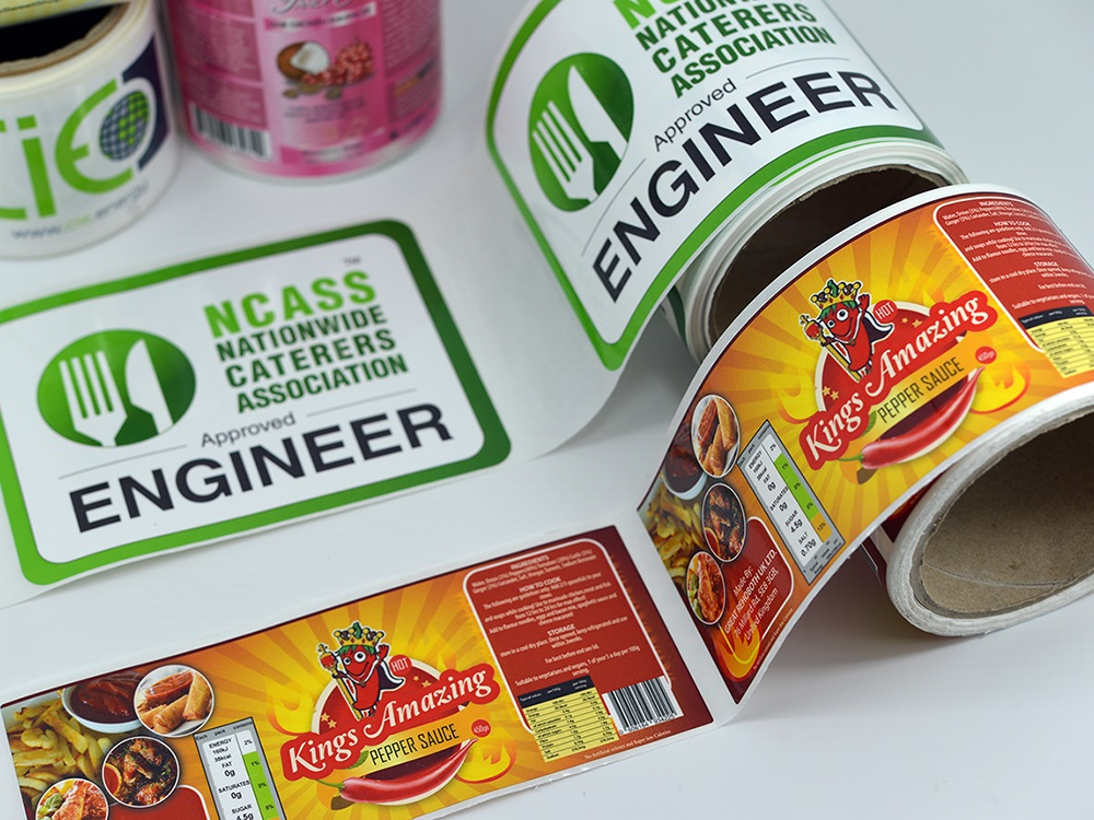 Various Types of label and Sticker Material You can Choose from